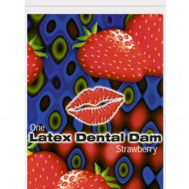 Latex Dental Dam – Strawberry