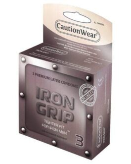 Caution Wear Iron Grip Snug Fit – Pack of 3