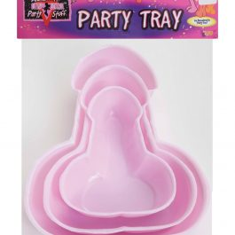 Bachelorette Penis Party Trays – Pack of 3