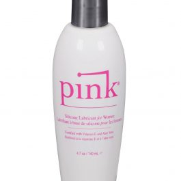 Pink Silicone Lube – 4.7 oz Flip Top Bottle