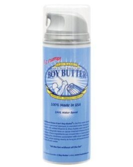 Boy Butter H2O Based – 5 oz Pump