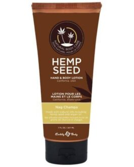 Earthly Body Velvet Lotion – 7 oz Tube Nag Champa