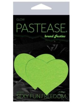 Pastease Heart – Glow in the Dark Green O/S