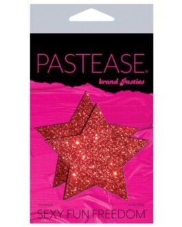 Pastease Glitter Star – Red O/S