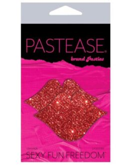 Pastease Glitter Lips – Red O/S