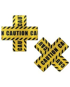 Pastease Caution Cross – Black/Yellow O/S