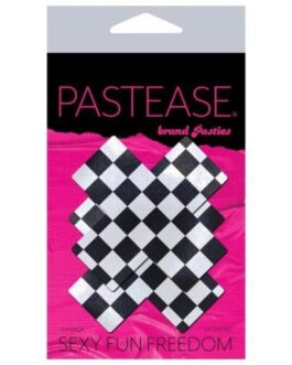 Pastease Checker Cross – Black/White O/S
