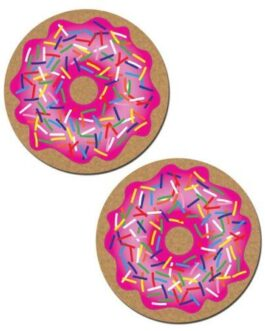 Pastease Donut w/Sprinkles – Pink O/S