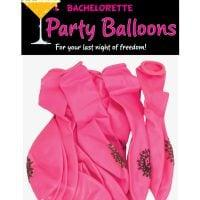 Bachelorette Party Balloons – Pack of 12