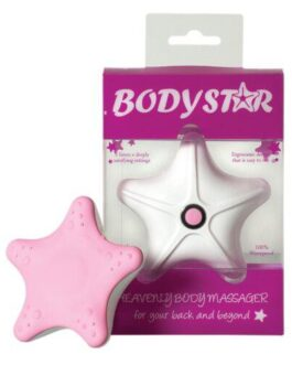Body Star Massager – Pink/White
