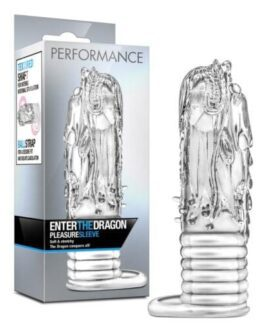 Blush Performance Enter the Dragon Penis Sleeve – Clear