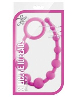 Blush Luxe Silicone Beads 10 – Pink