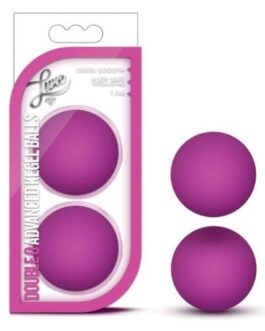 Blush Luxe Double O Advanced Kegel Balls – Pink