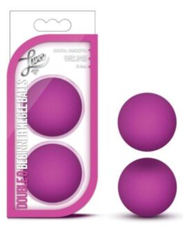 Blush Luxe Double O Beginner Kegel Balls – Pink