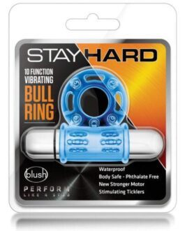 Blush Stay Hard Mega Vibrating Bull Ring