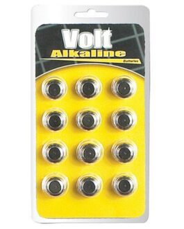 Blush Volt Alkaline Batteries – AG13 Pack of 12
