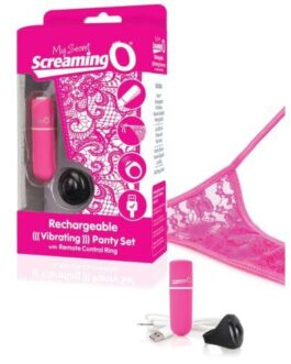Screaming O My Secret  Charged Remote Control Panty – Pink