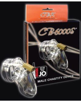 "CB-6000 2 1/2"" Cock Cage & Lock Set – Clear"