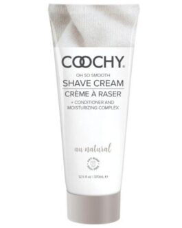 COOCHY Shave Cream – 12.5 oz Au Natural