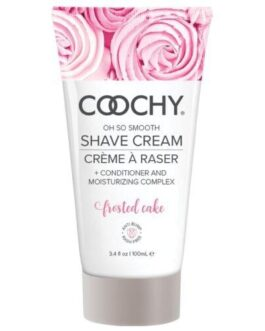 COOCHY Shave Cream – 3.4 oz Frosted Cake