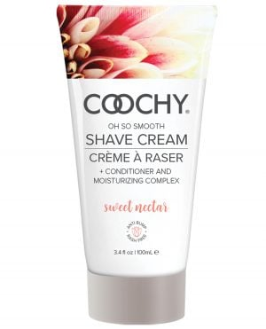COOCHY Shave Cream - 3.4 oz Sweet Nectar