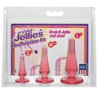 Crystal Jellies Anal Initiation Kit – Pink