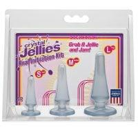 Crystal Jellies Anal Initiation Kit – Clear