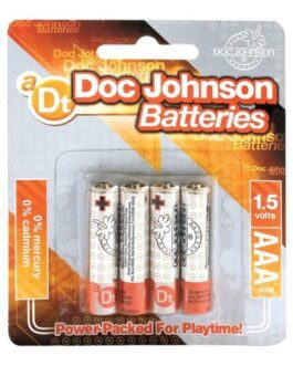 Doc Johnson Batteries – AAA 4 Pack