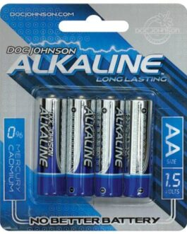 Doc Johnson Alkaline Batteries – AA 4 Pack