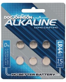 Doc Johnson Alkaline Batteries LR44 – Pack of 6