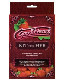 Goodhead Kit for Her – Strawberry