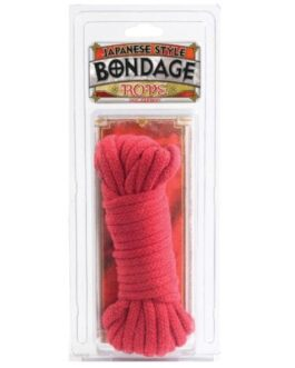 Japanese Style Bondage Cotton Rope – Red