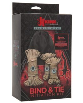 Kink Bind & Tie Initiation Hemp Rope Kit – 5 pc Kit