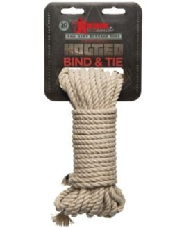 Kink Bind & Tie Hemp Bondage Rope – 30 ft