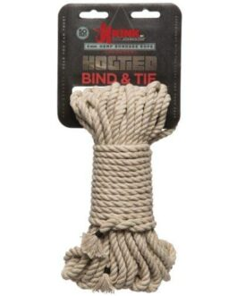 Kink Bind & Tie Hemp Bondage Rope – 50 ft