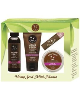 Earthly Body Hemp Seed Mini Mania Kit – Skinny Dip