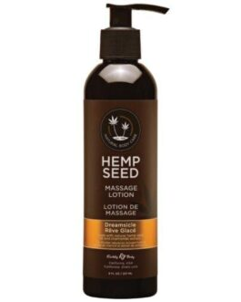Earthly Body Hemp Seed Massage Lotion – 8 oz Dreamsicle