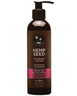 Earthly Body Hemp Seed Massage Lotion – 8 oz Skinny Dip