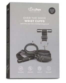 Easy Toys Over The Door Wrist Cuffs – Black