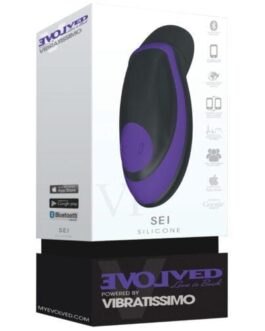 Evolved Vibratissimo Sei Stimulator – Purple/Black