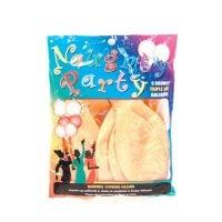 Naughty Party Boobie Balloons  – Flesh Pack of 6
