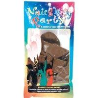 """Naughty Party 22"""" Penis Balloons – Brown Pack of 8"""
