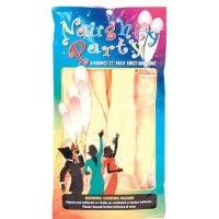 """Naughty Party 22"""" Penis Balloons – Flesh Pack of 8"""