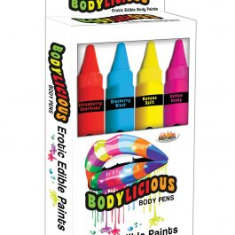 Bodylicious Edible Pens – Pack of 4