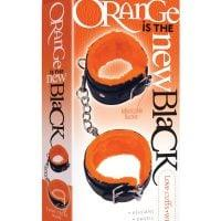 The 9's Orange is the New Black Wrist Love Cuffs