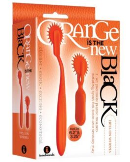 The 9's Orange is the New Black Hell On Wheels 2pc Wartenberg Wheel Set