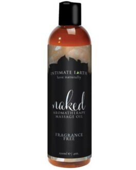 Intimate Earth Massage Oil – 120 ml Naked
