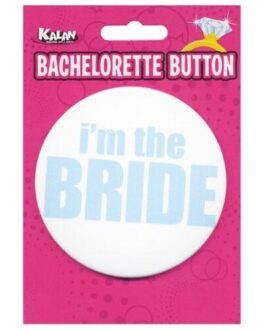 Bachelorette Button – I'm the Bride