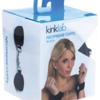 KinkLab Neoprene Cuffs – Black