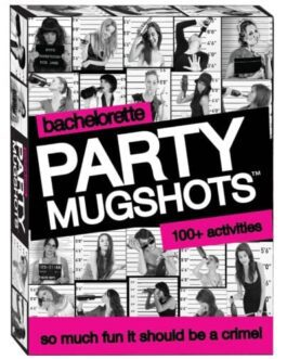Bachelorette Party Mugshots Card Game